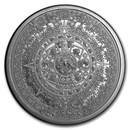 2 oz Silver Round - Aztec Calendar