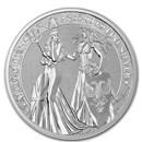 2 oz Silver Round - Germania Allegories 2019 BU (Britannia)