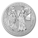 2 oz Silver Round - Germania Allegories 2019 BU (Columbia)