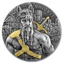 2 oz Silver Round - Germania Warriors 2020 Antiqued (Ariowit)