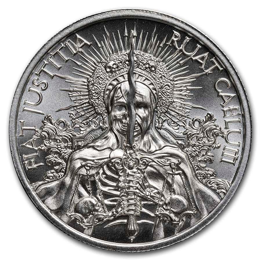 2 oz Silver Round - Latin Allure Series: Fiat Justitia Ruat Cælum