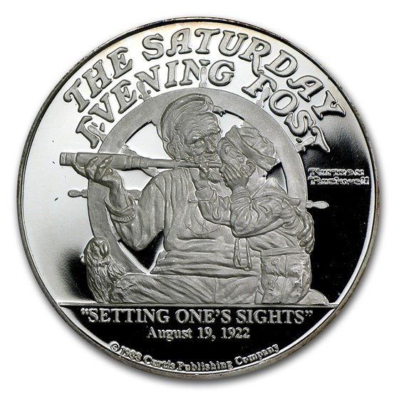 2 oz Silver Round - Setting One's Sights