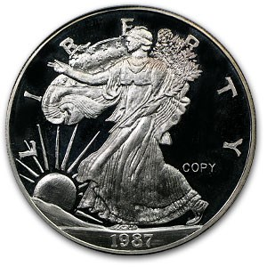 2 oz Silver Round - Silver Eagle