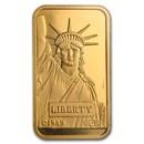 20 gram Gold Bar - Credit Suisse Statue of Liberty (In Assay)