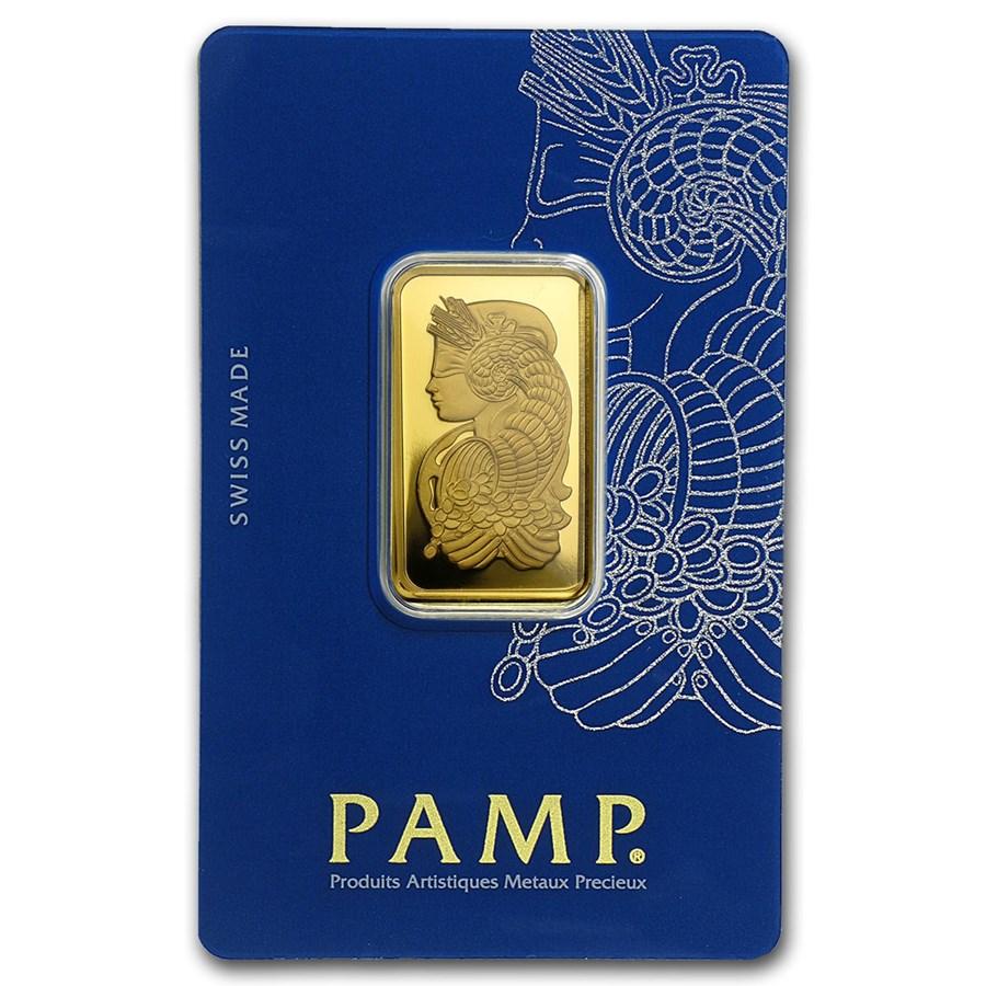 20 gram Gold Bar - PAMP Suisse Fortuna Veriscan® (In Assay)