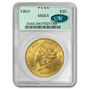 $20 Liberty Gold Double Eagle MS-64 PCGS/NGC (CAC)