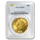 $20 Liberty Gold Double Eagle MS-65 PCGS (Random)