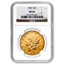 $20 Liberty Gold Double Eagle MS-66 NGC (Random)