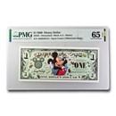 2000 $1.00 Disney Epcot Mickey Mouse CU-65 EPQ PMG