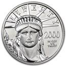 2000 1/4 oz American Platinum Eagle BU