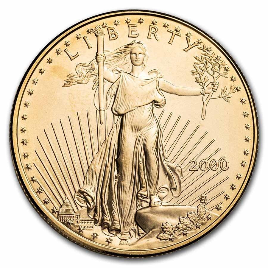 2000 1 oz American Gold Eagle BU