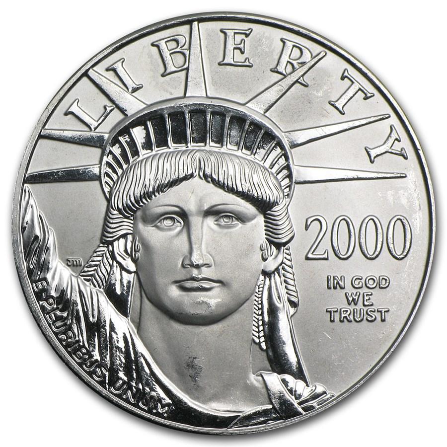 2000 1 oz American Platinum Eagle BU