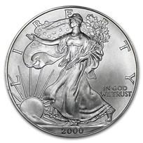 2000 1 oz American Silver Eagle BU