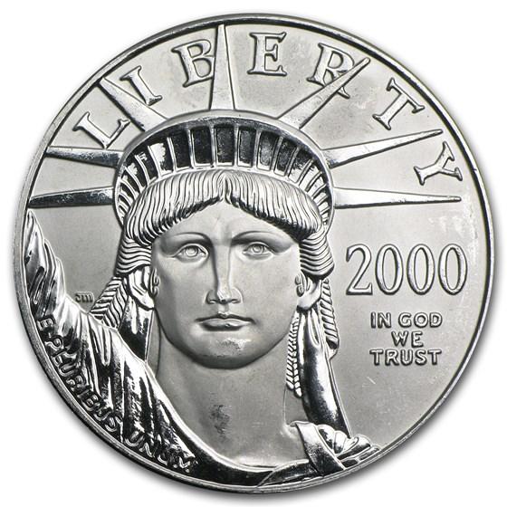 2000 1 oz Platinum American Eagle BU