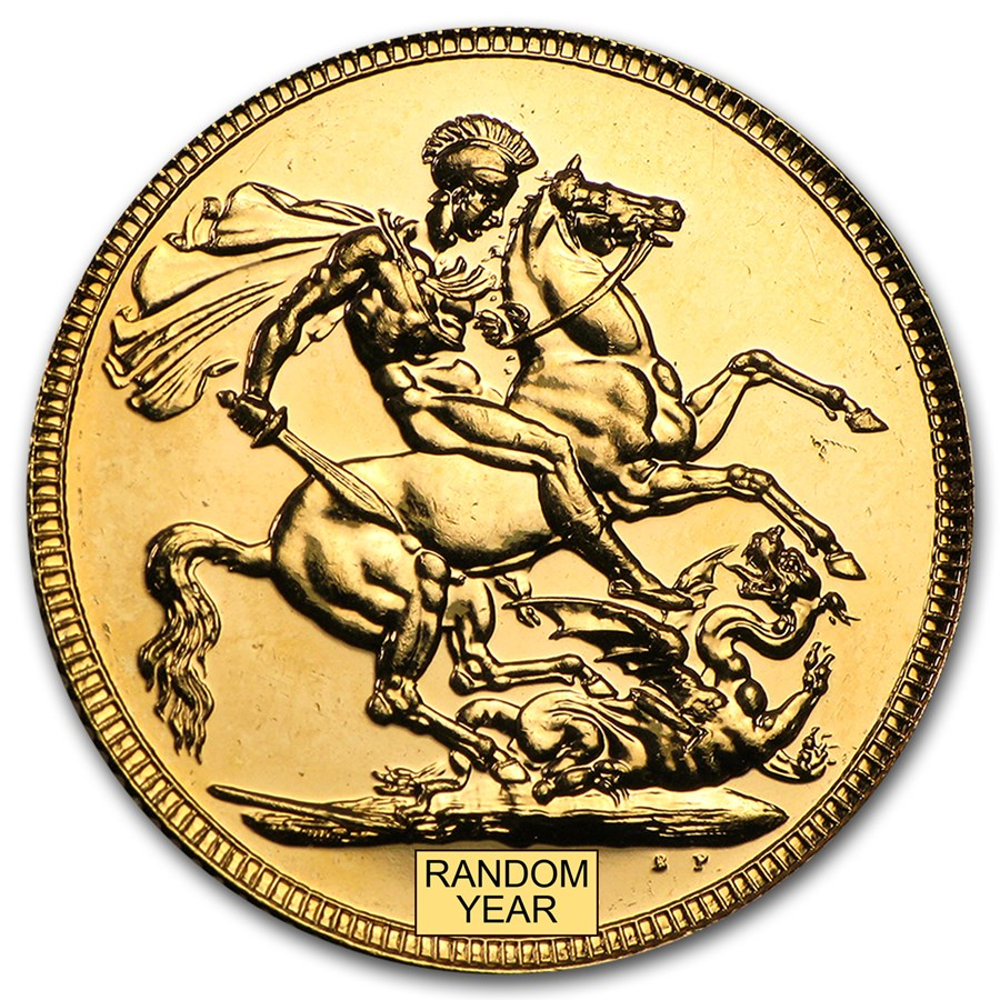 2000-2014 Great Britain Gold Sovereign Proof (no box)