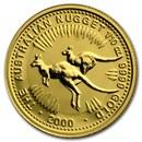 2000 Australia 1/10 oz Gold Nugget