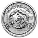 2000 Australia 1/2 oz Silver Year of the Dragon BU (Series I)