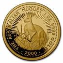 2000 Australia 1 oz Proof Gold Nugget