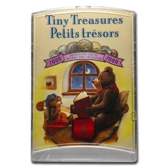 2000 Canada 7-Coin Tiny Treasures Set BU (Original pkg)