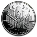 2000 Canada Silver Dollar Proof (Space Exploration w/OGP)