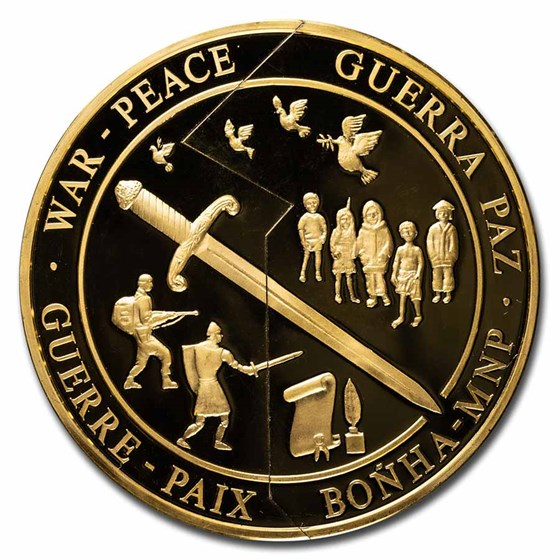 2000 Kiribati/Samoa $500 Gold Two Piece Coin Proof