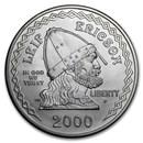 2000-P Leif Ericson $1 Silver Commem BU (w/Box & COA)