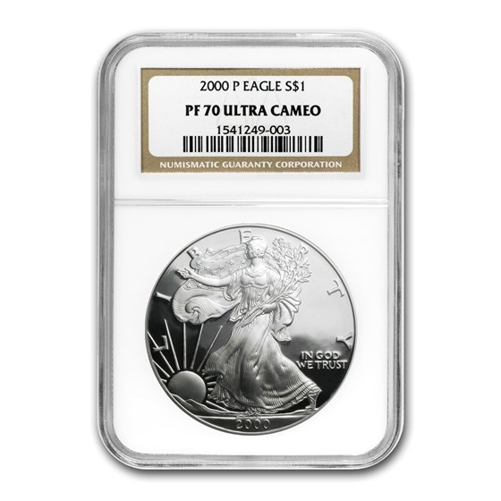 2000-P Proof American Silver Eagle PF-70 NGC