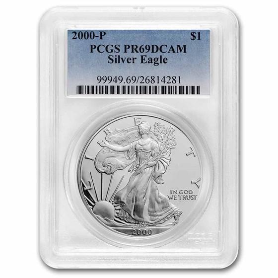 2000-P Proof American Silver Eagle PR-69 PCGS