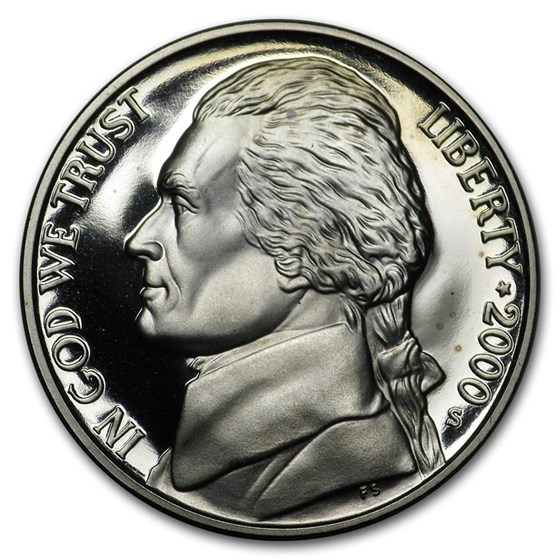 2000-S Jefferson Nickel Gem Proof
