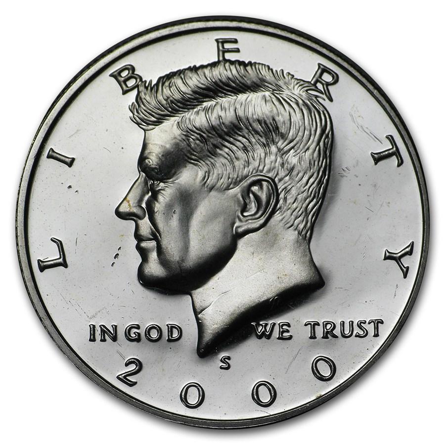 2000-S Kennedy Half Dollar Gem Proof