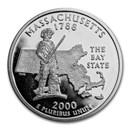 2000-S Massachusetts State Quarter Gem Proof (Silver)