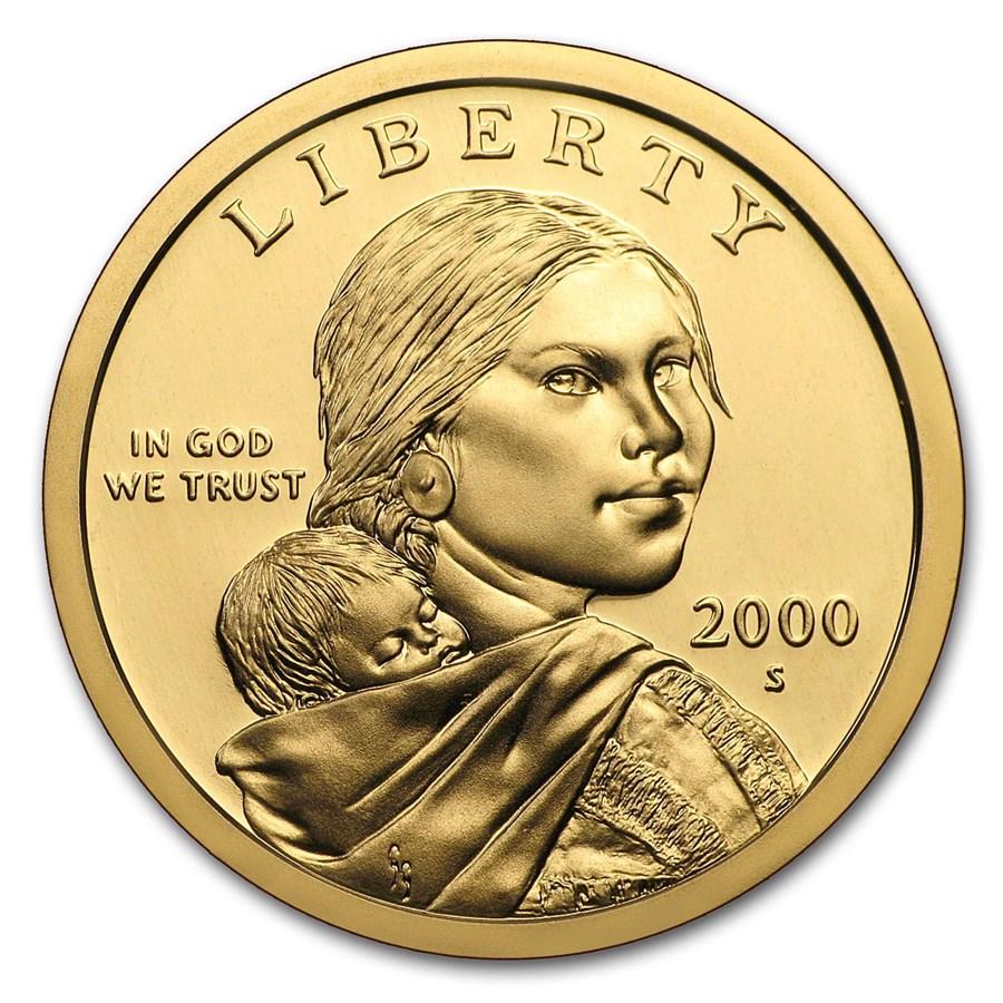 2000-S Sacagawea Dollar Gem Proof