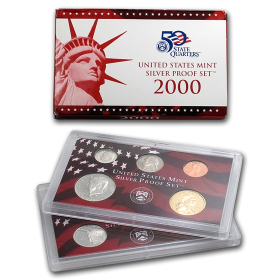 2000-S Silver Proof Set