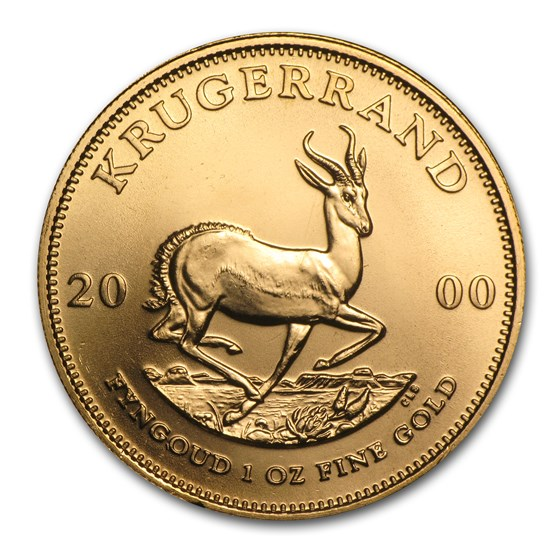 2000 South Africa 1 oz Gold Krugerrand BU