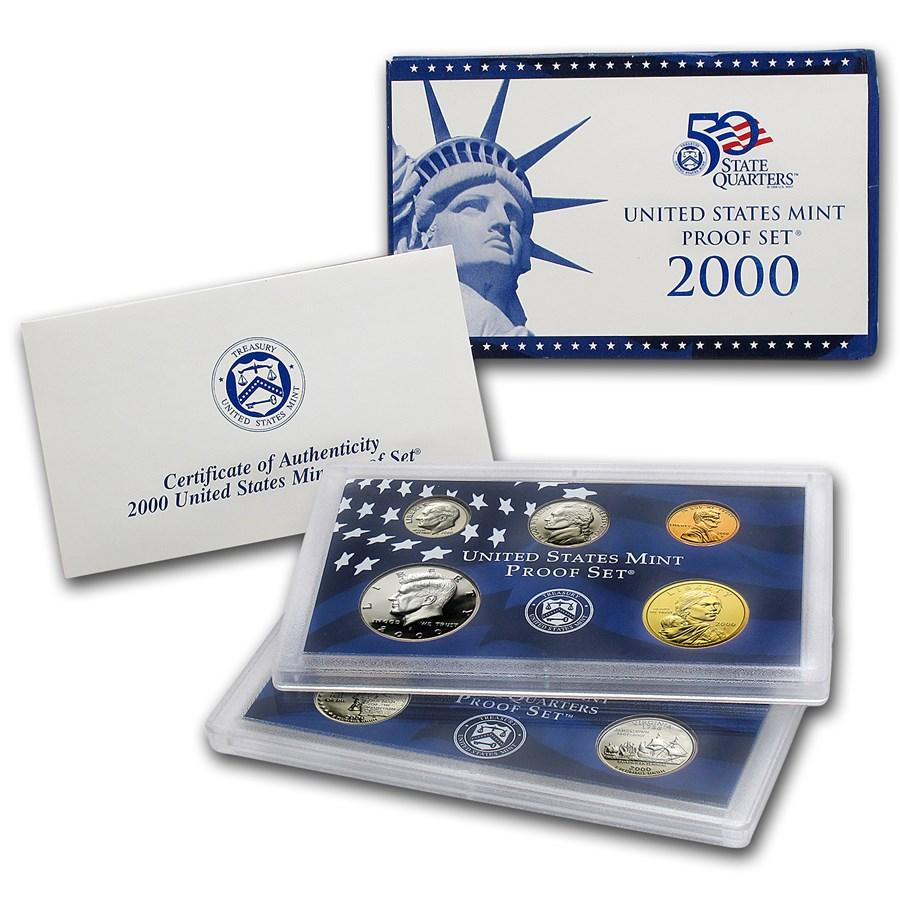 2000 U.S. Proof Set