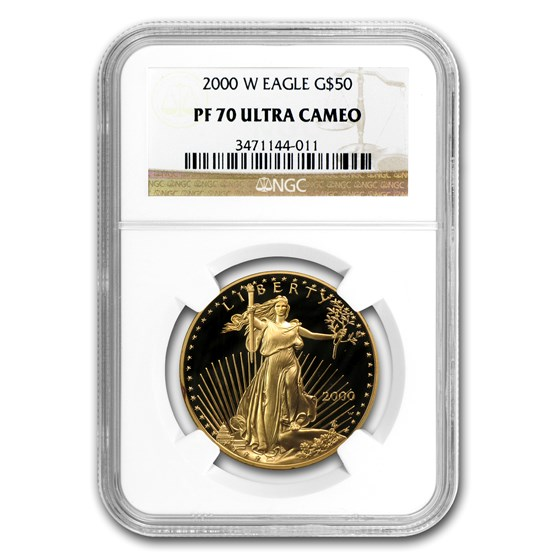 2000-W 1 oz Proof American Gold Eagle PF-70 UCAM NGC