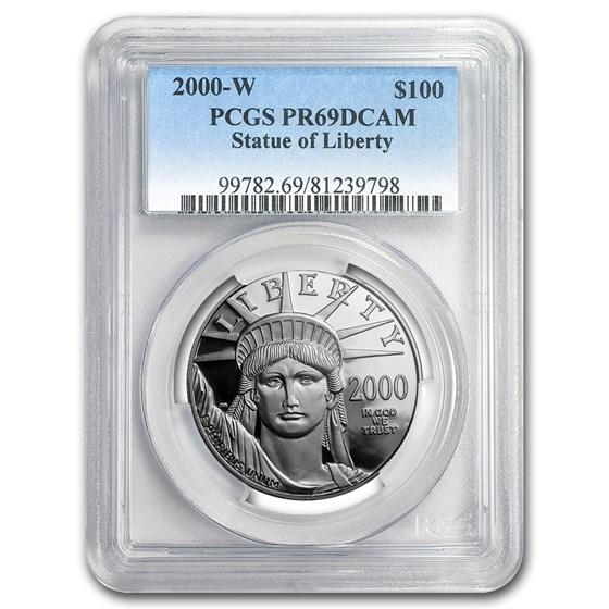 2000-W 1 oz Proof American Platinum Eagle PR-69 DCAM PCGS