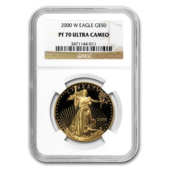 2000-W 1 oz Proof Gold American Eagle PF-70 NGC