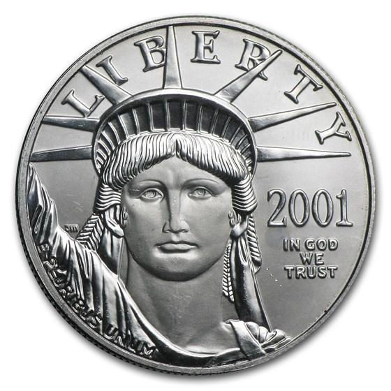 2001 1 oz American Platinum Eagle BU