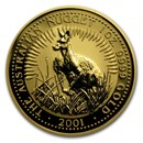 2001 Australia 1 oz Gold Nugget BU
