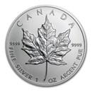 2001 Canada 1 oz Silver Maple Leaf BU