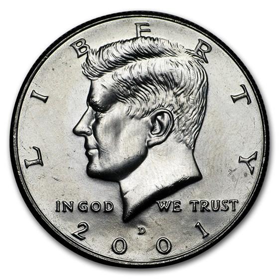 2001-D Kennedy Half Dollar BU