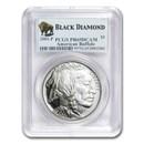 2001-P Buffalo $1 Silver Commem PR-69 PCGS (Black Diamond)