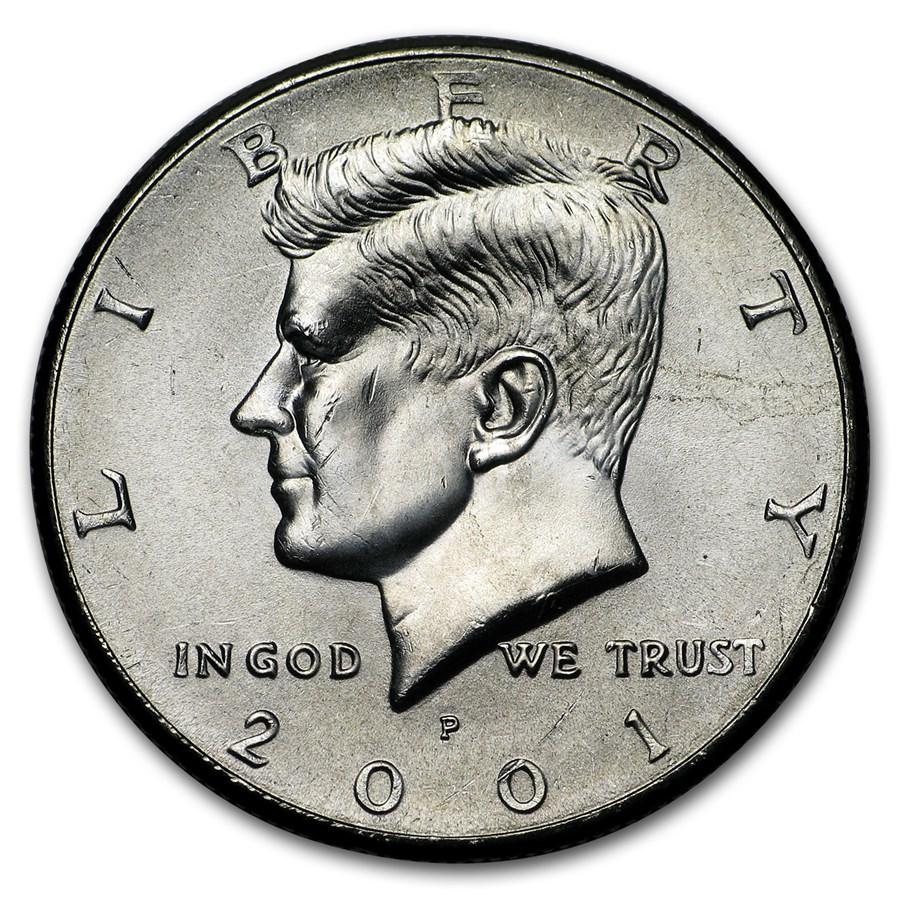 2001-P Kennedy Half Dollar BU