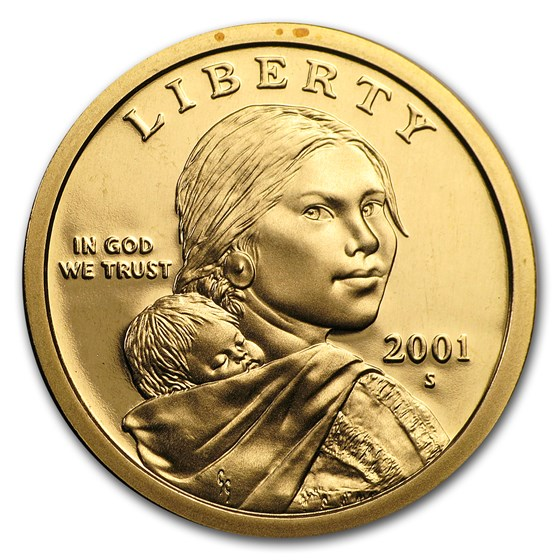 2001-S Sacagawea Dollar Gem Proof