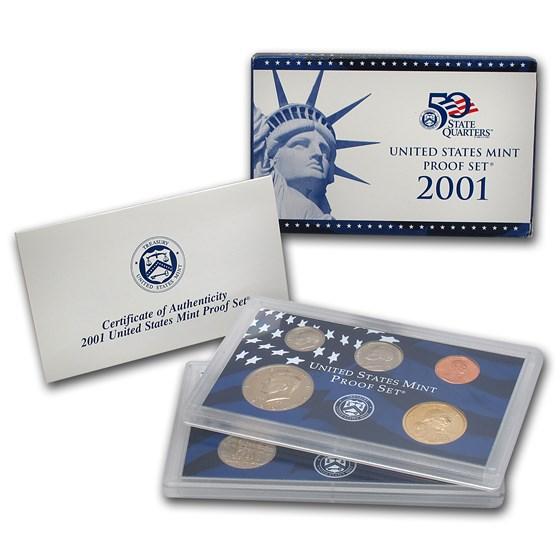 2001 U.S. Proof Set