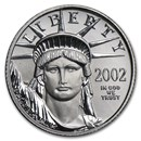 2002 1/10 oz Platinum American Eagle BU