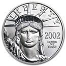 2002 1/2 oz American Platinum Eagle BU