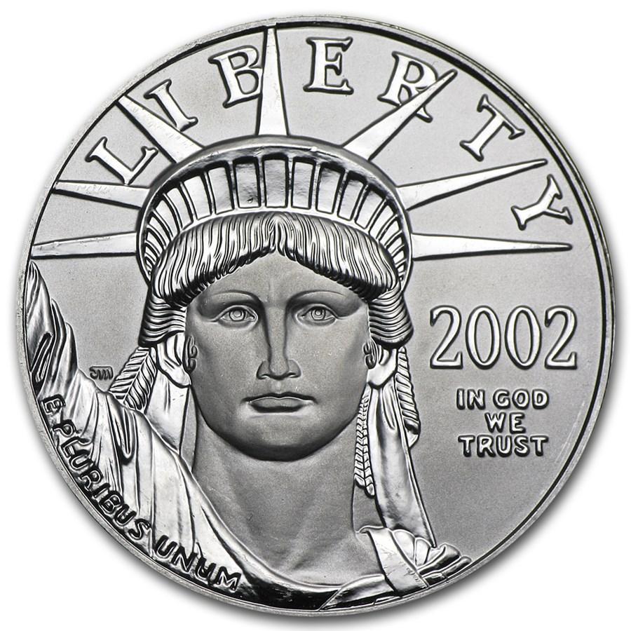 2002 1 oz American Platinum Eagle BU