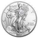 2002 1 oz American Silver Eagle BU